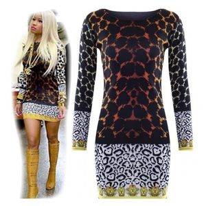 Dresses & Skirts - 🛍Nicki Minaj Style inspired Leopard dress🛍